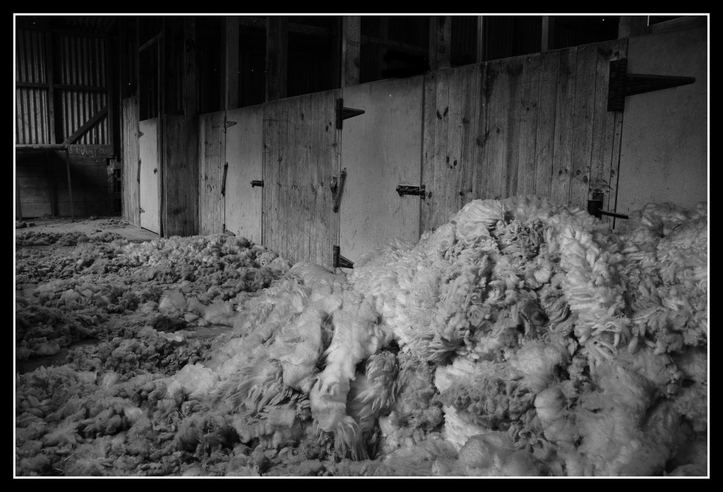 Inside the wool shed   ISO100, F9.0, 1.6sec