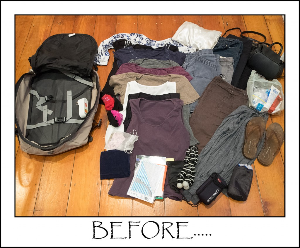 Packing light, augustinesworld
