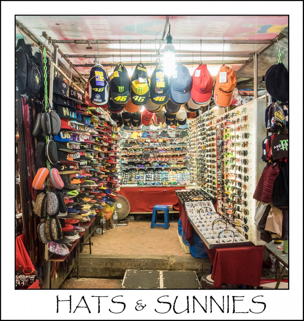 Petaling Stree, Kulala Lumpur, Augustinesworld, Hats and Sunnies,